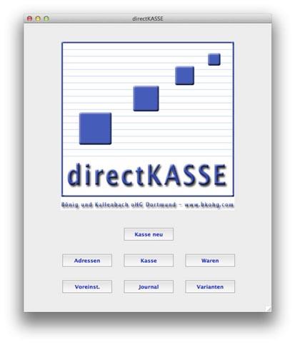Directkasse Anleitung
